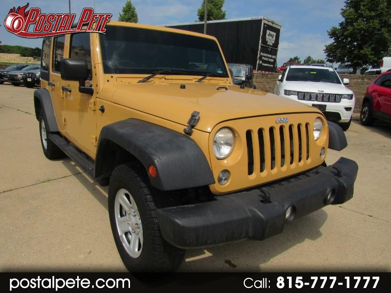 Jeep Wrangler Unlimited Sport 4WD RHD 2014