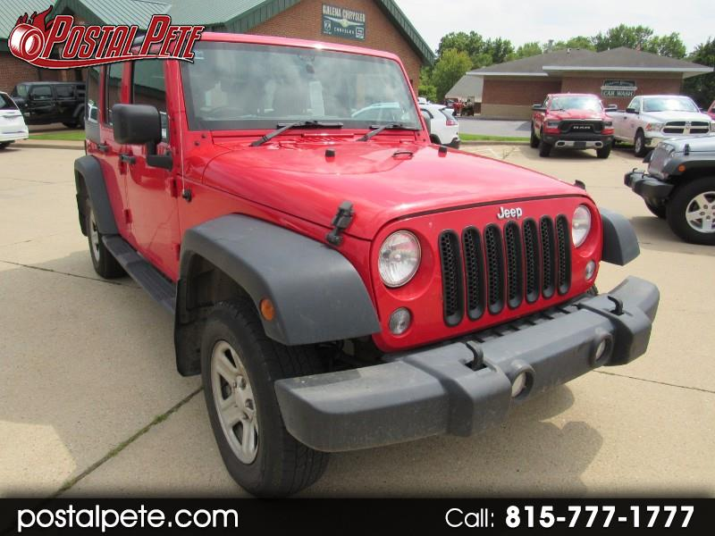 2015 Jeep Wrangler Unlimited Sport 4WD RHD