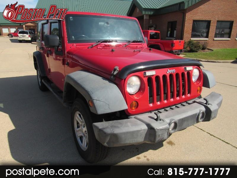 2012 Jeep Wrangler Unlimited Sport 4WD RHD
