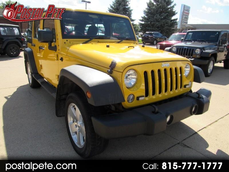 Jeep Wrangler Unlimited Sport 4WD RHD 2015