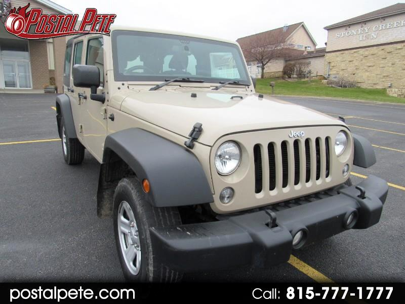Jeep Wrangler Unlimited Sport 4WD RHD 2016