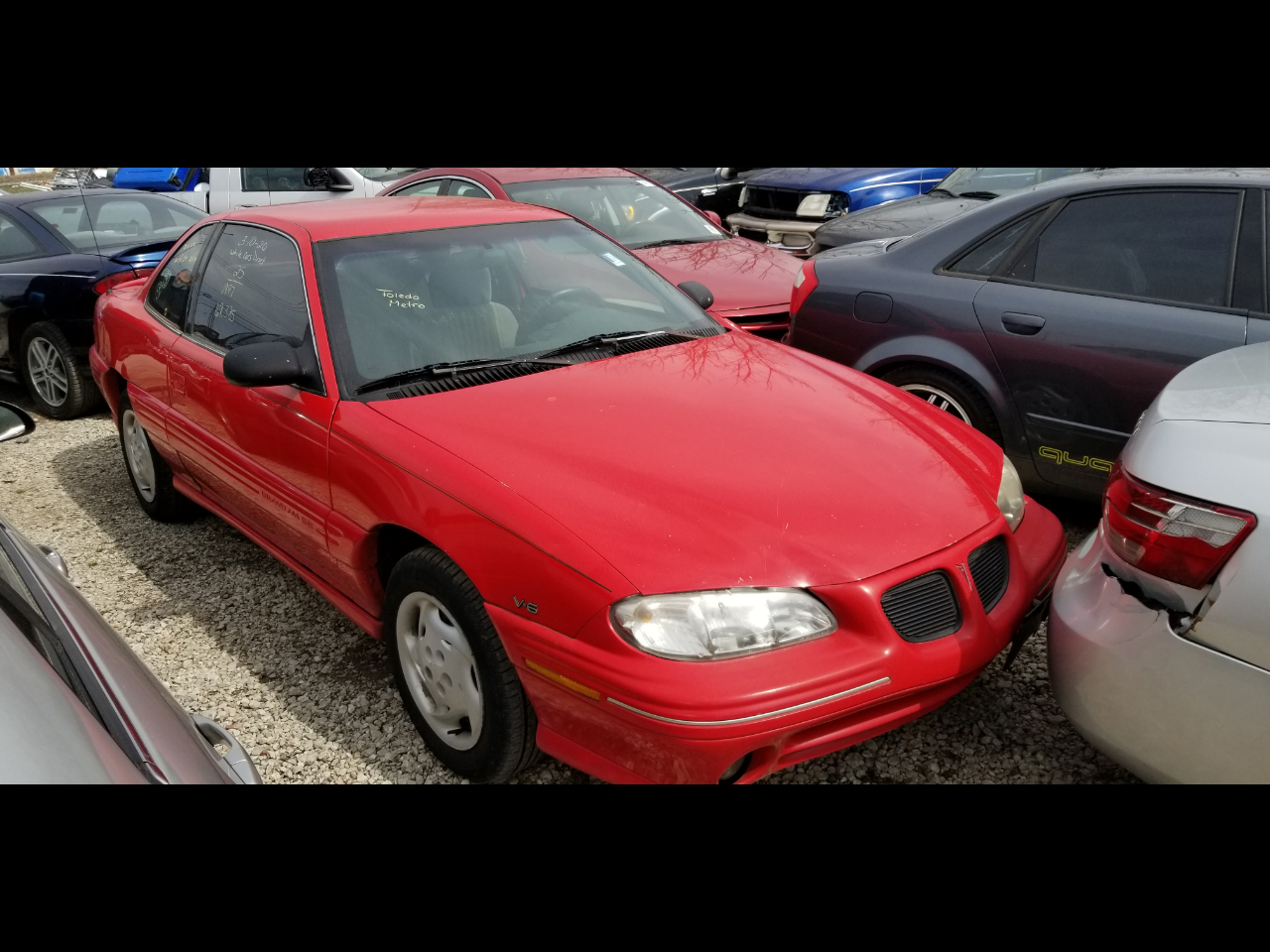 Pontiac Grand Am SE coupe 1997