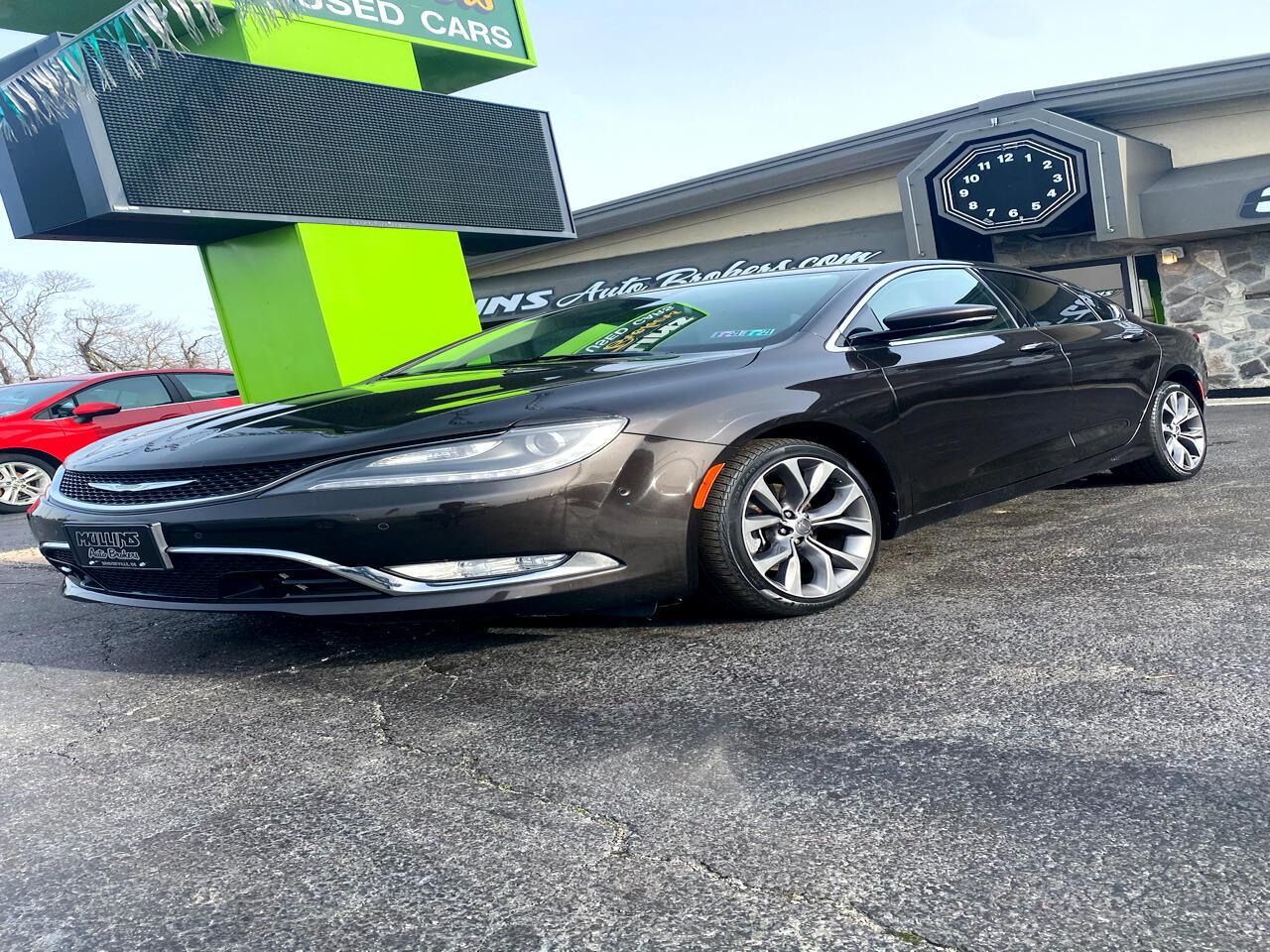 Chrysler 200 4dr Sdn C AWD 2015