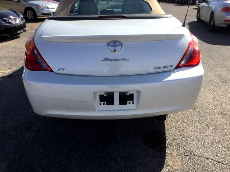 2006 Toyota Camry Solara SE Convertible
