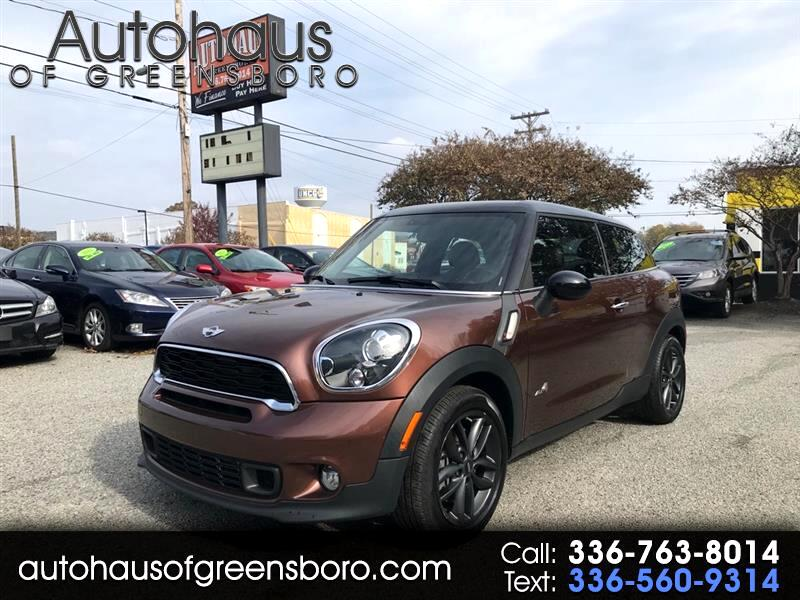 2013 MINI Paceman S ALL4