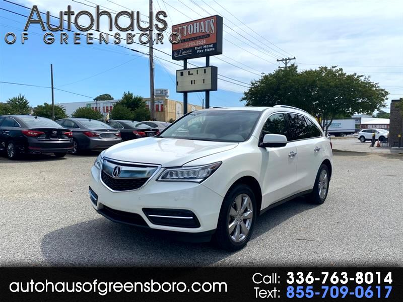 Acura MDX 6-Spd AT w/Advance Package 2014