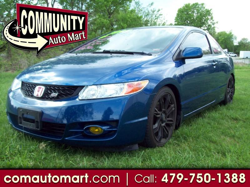 2009 Honda Civic Si Coupe 6-Speed MT