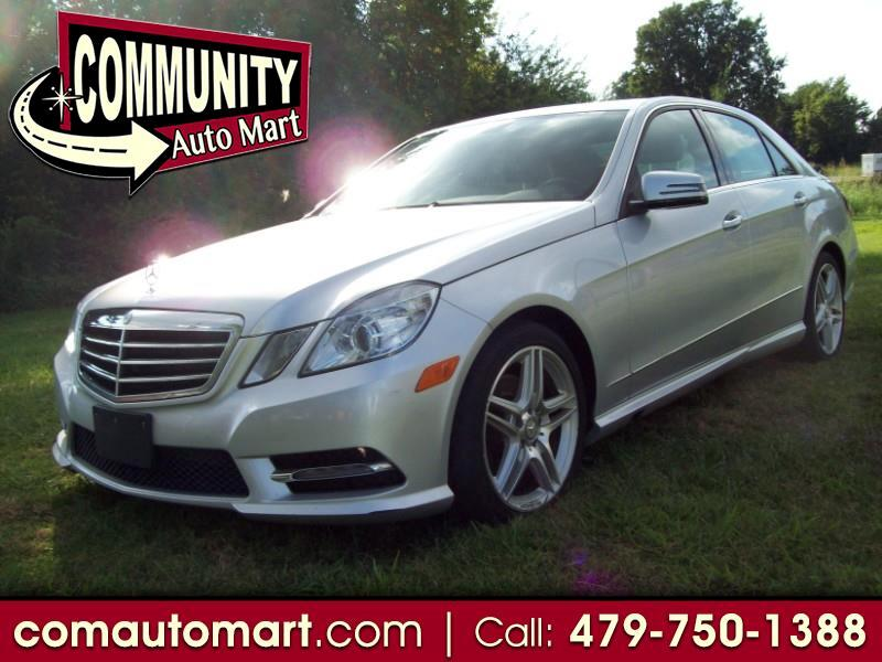 Mercedes-Benz E-Class E350 4MATIC Sedan 2013
