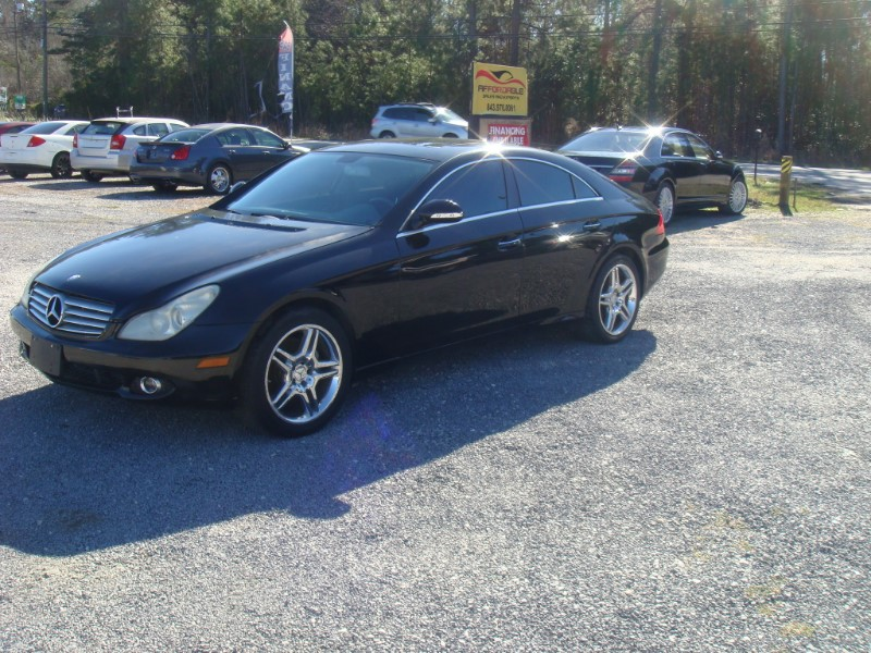 Mercedes-Benz CLS-Class CLS550 4-Door Coupe 2007