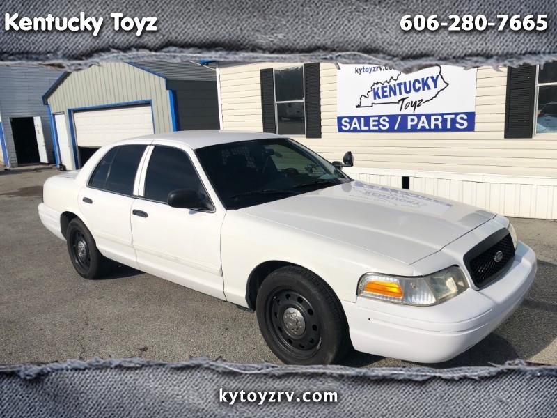 2009 Ford Crown Victoria Police Pkg 4dr Sdn Police Interceptor