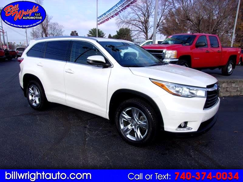 2014 Toyota Highlander Limited AWD V6