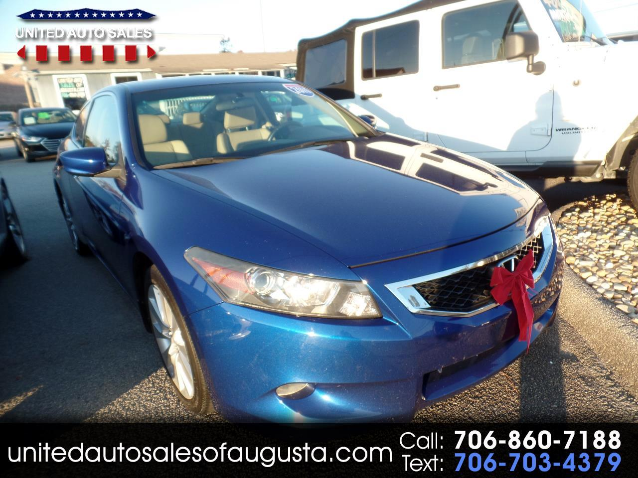 2010 Honda Accord EX-L V-6 Coupe AT