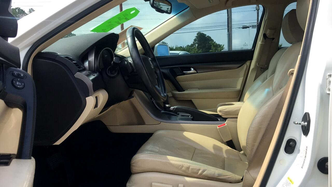 2012 Acura TL 6-Speed AT with Advance Package