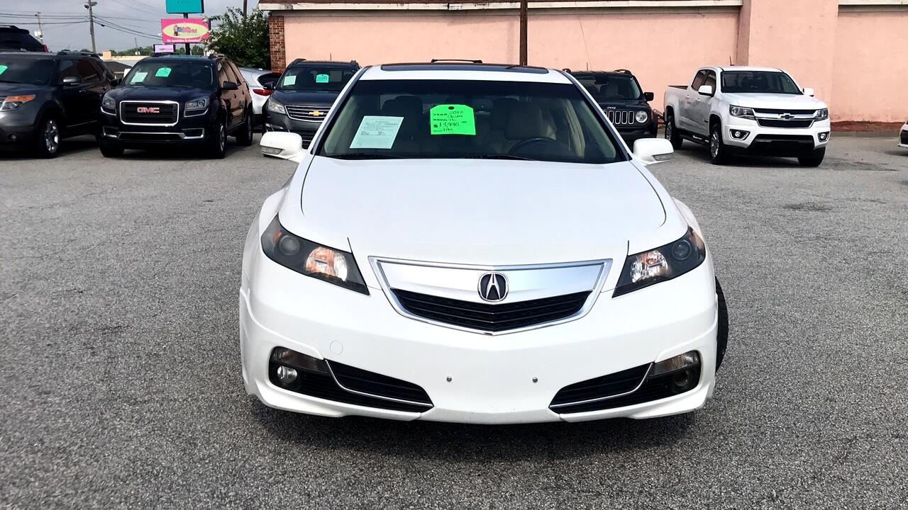 Acura Of Augusta >> Used 2012 Acura TL 6-Speed AT with Advance Package for ...
