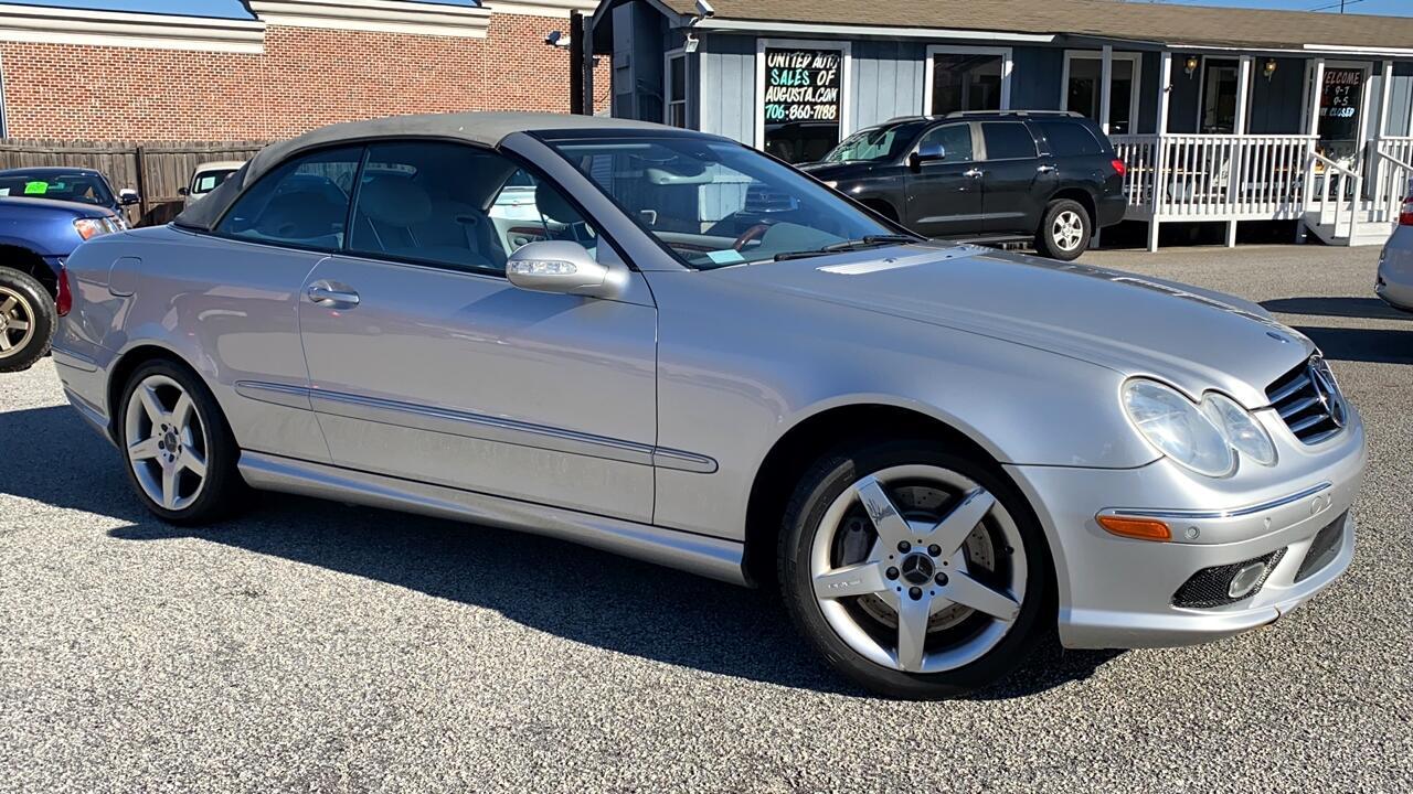 Mercedes-Benz CLK-Class CLK500 Cabriolet 2005