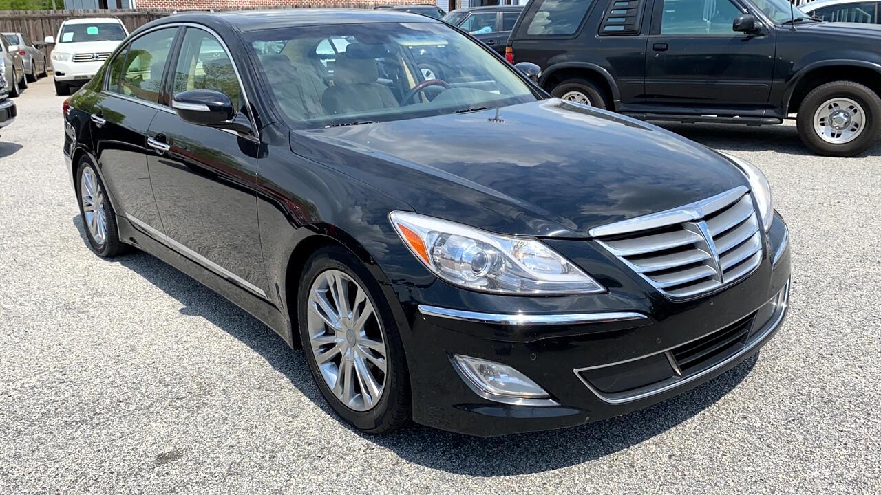 Hyundai Genesis 4.6L 2012