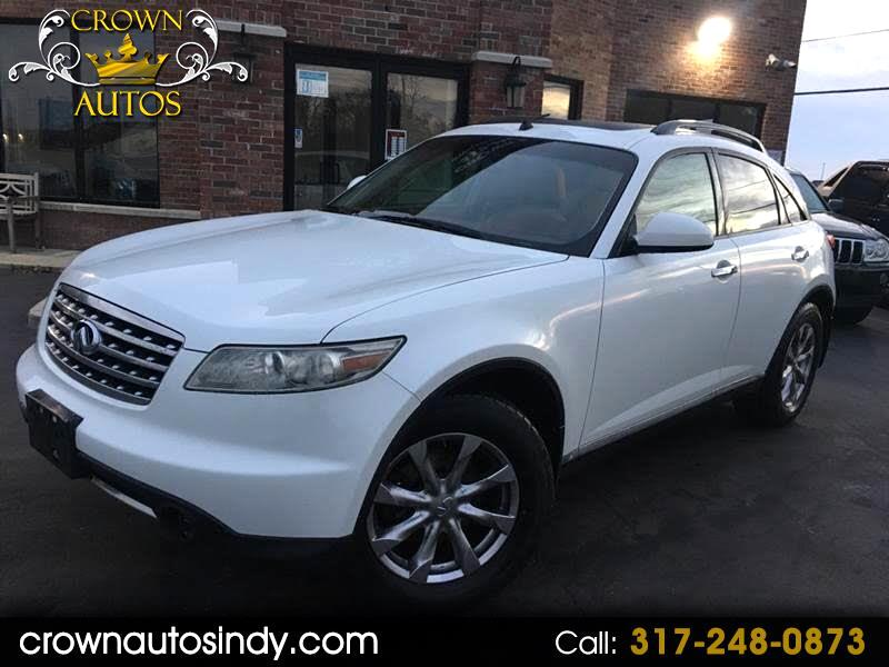 Used 2007 Infiniti Fx Fx35 Awd For Sale In Indianapolis In