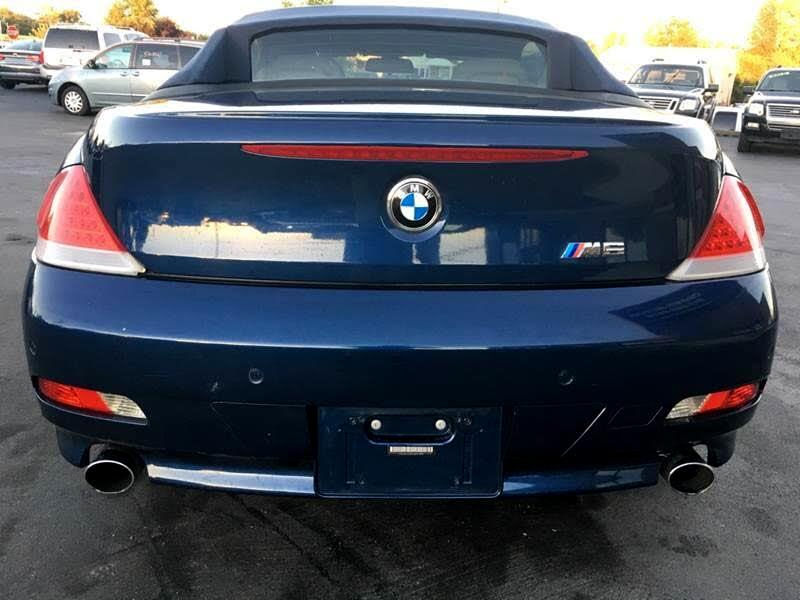 2005 BMW 6-Series 645Ci Convertible