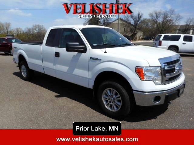 2013 Ford F-150 4WD SuperCab 163