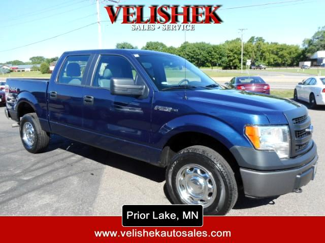 "2013 Ford F-150 4WD SuperCrew 139"" XL"
