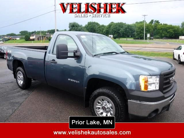 2012 GMC Sierra 1500 Work Truck Long Box 4WD