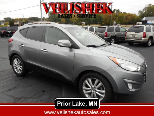 2012 Hyundai Tucson Limited 4WD
