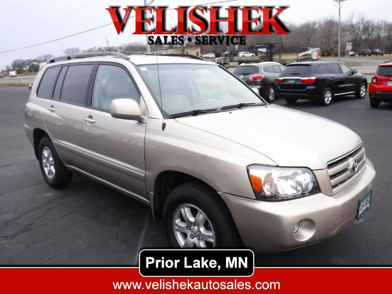 2007 Toyota Highlander FWD 4dr Base (Natl)