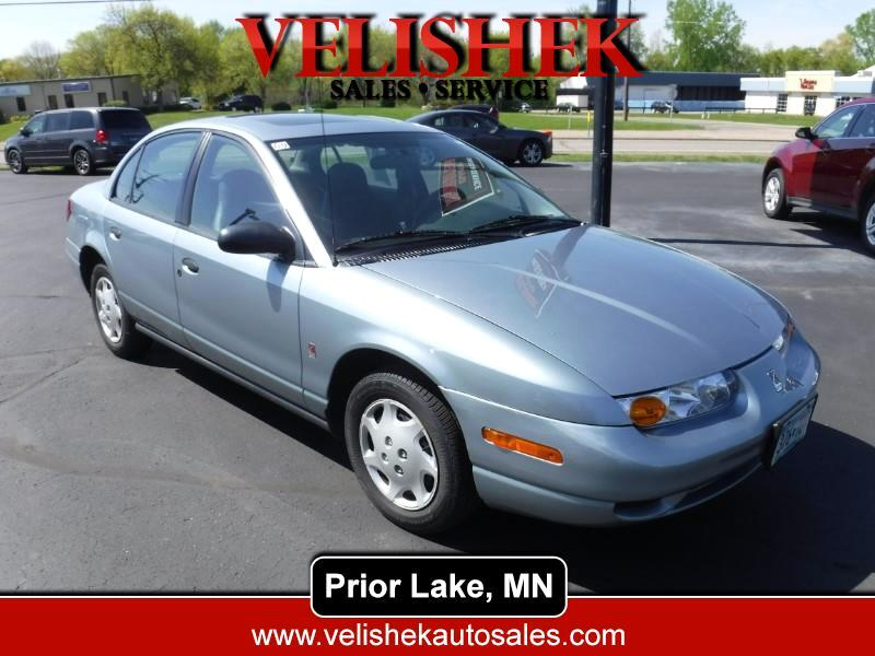 2002 Saturn SL 4 Dr SL1 Sedan
