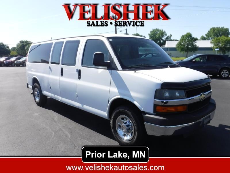 Chevrolet Express LT 3500 Extended 2010
