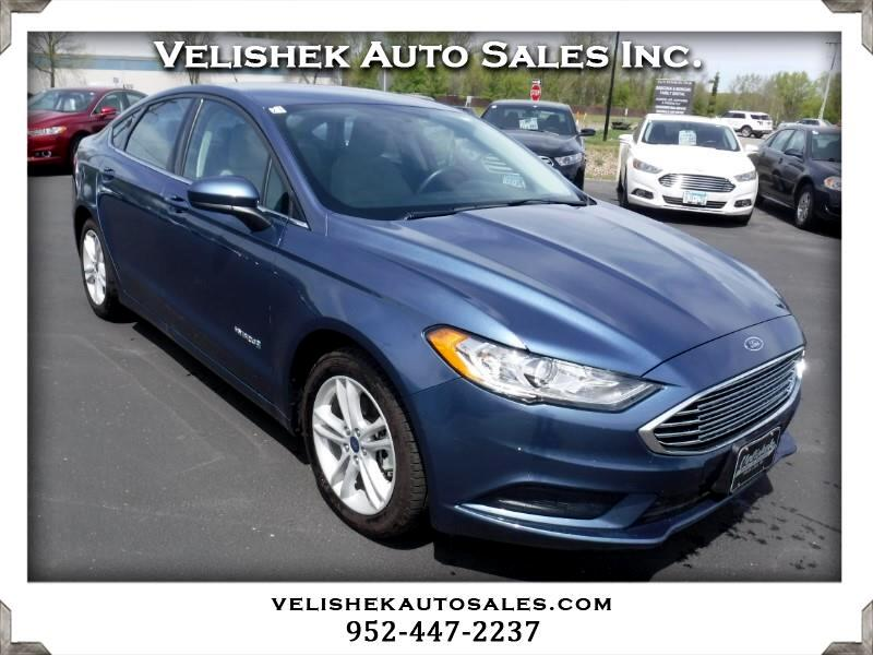 Ford Fusion Hybrid S 2018