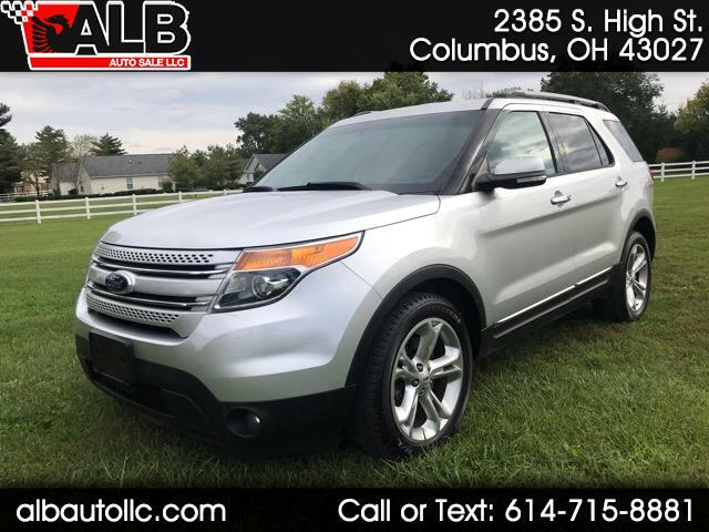 """2013 Ford Explorer 4dr 112"""" WB Limited 4WD"""
