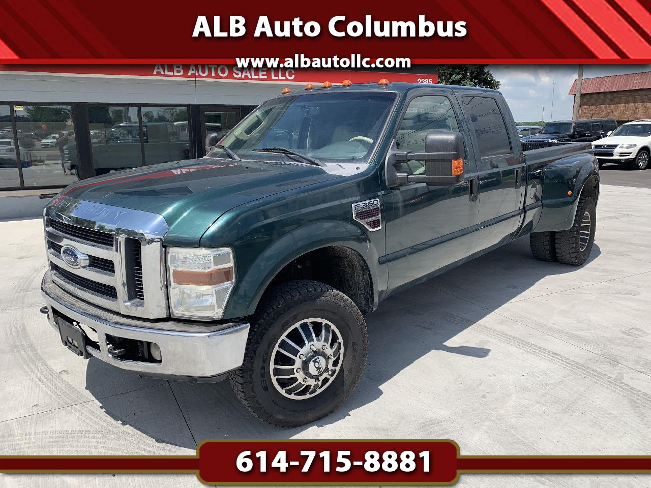 Ford F-350 SD XLT Crew Cab Long Bed DRW 4WD 2008