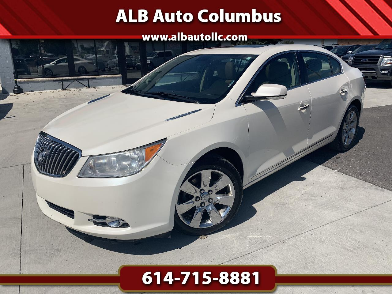 Buick LaCrosse Premium Package 2, w/Leather 2013