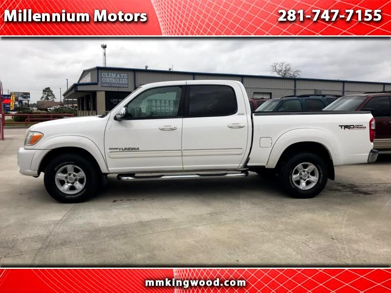 2006 Toyota Tundra SR5 Double Cab 5AT 2WD