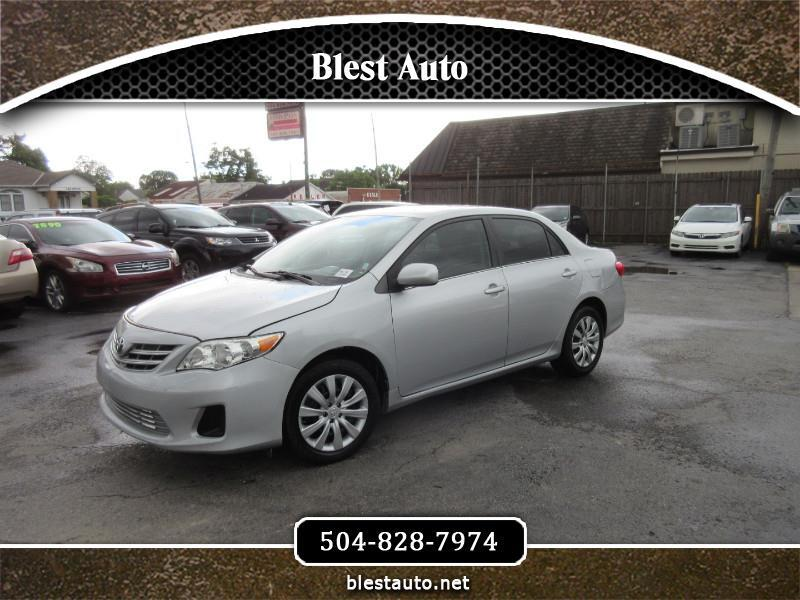2013 Toyota Corolla XLE 4-Speed AT