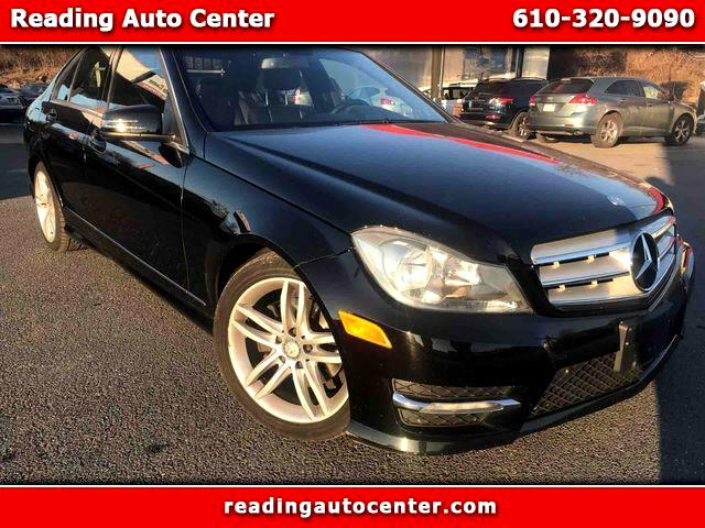 2012 Mercedes-Benz C-Class C 300 4MATIC Sport Sedan 4D