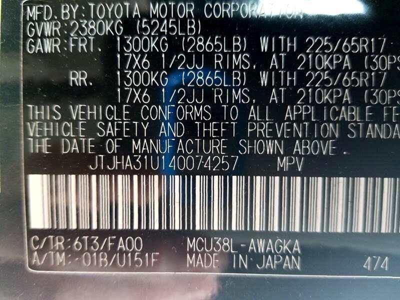 2004 Lexus RX 330 4WD