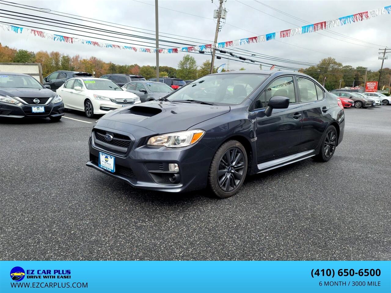 Subaru WRX 4dr Sdn Man 2015