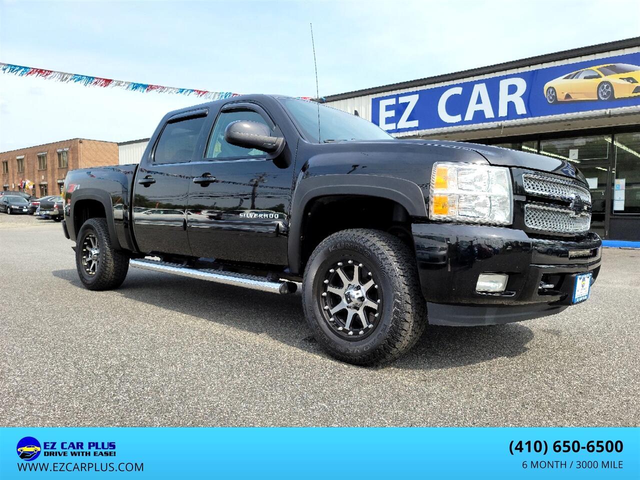 """Chevrolet Silverado 1500 4WD Crew Cab 143.5"""" LTZ 2012"""
