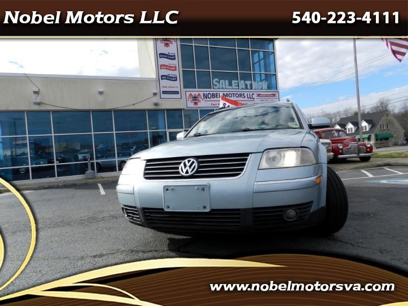 2002 Volkswagen Passat Wagon GLS