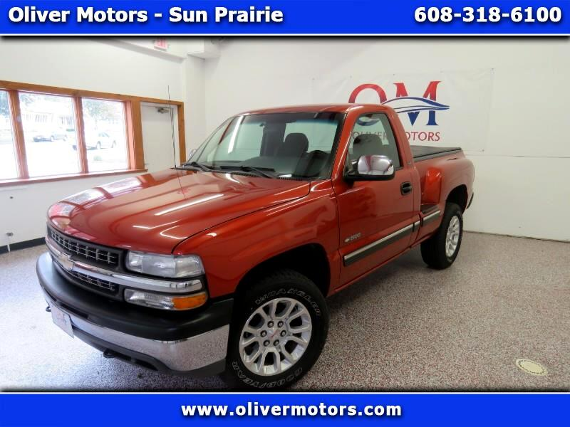 2001 Chevrolet Silverado 1500 LS Reg Cab Step Side 4x4