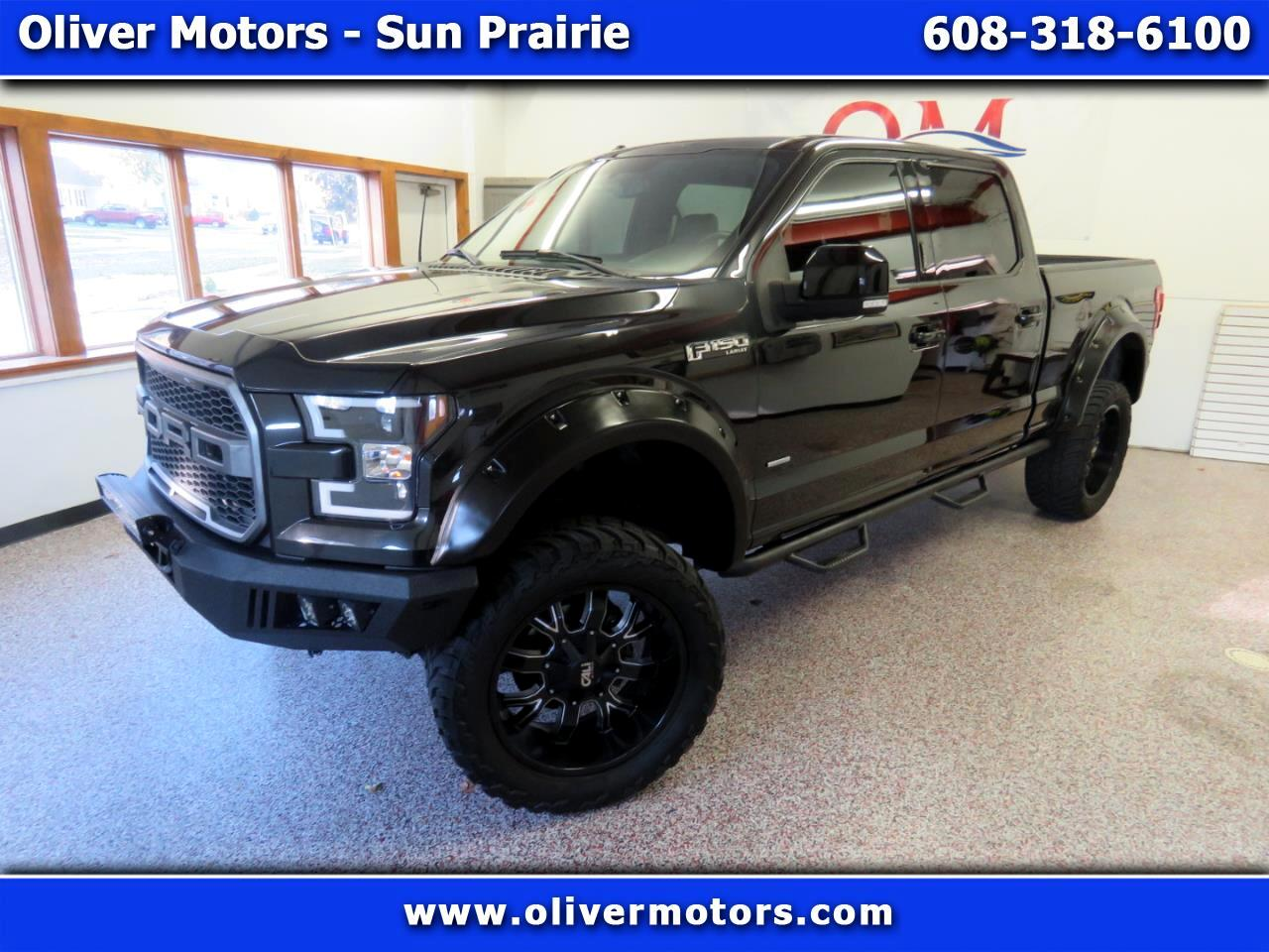 """Ford F-150 4WD SuperCrew 157"""" Lariat w/HD Payload Pkg 2015"""