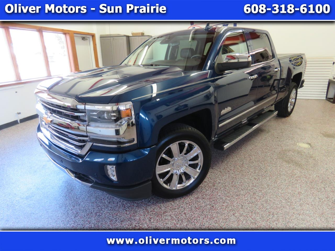 "Chevrolet Silverado 1500 4WD Crew Cab 153.0"" High Country 2016"