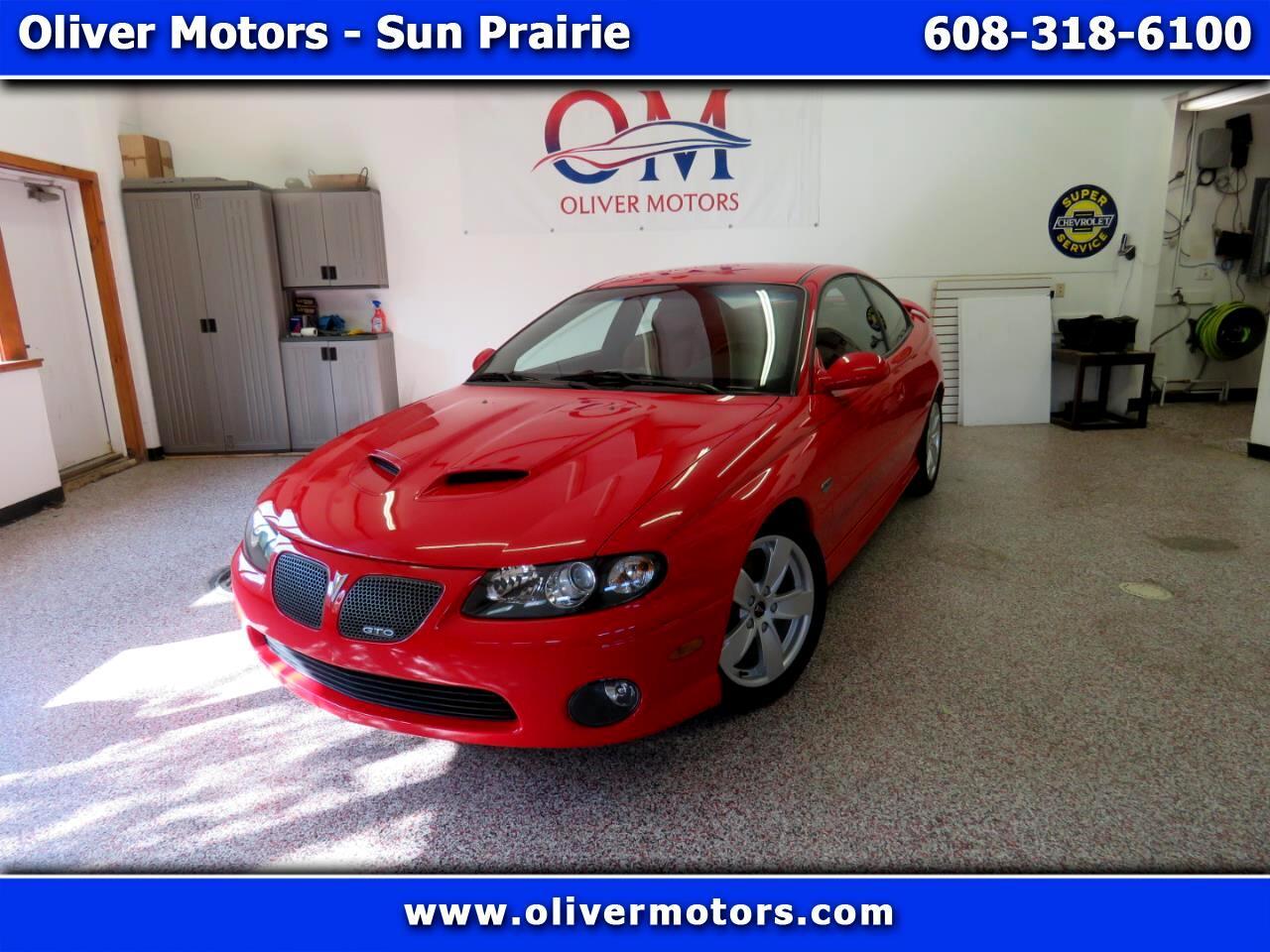 Pontiac GTO 2dr Cpe 2005