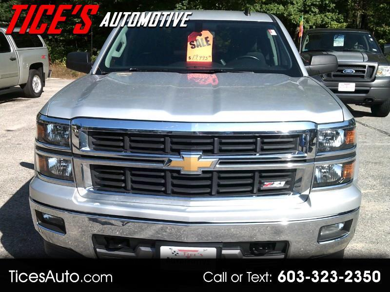 "Chevrolet Silverado 1500 4WD Double Cab 143.5"" LT w/2LT 2014"