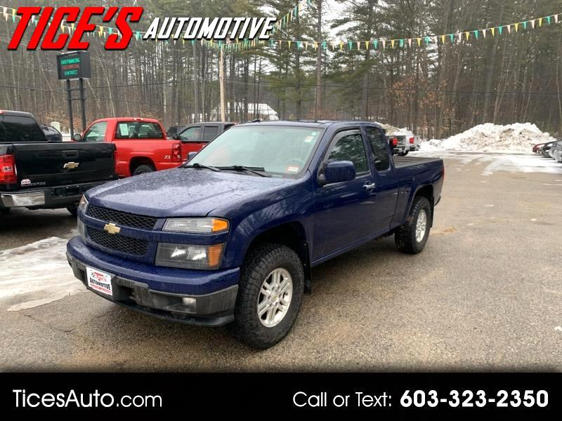 Chevrolet Colorado 4WD Ext Cab LT w/1LT 2012