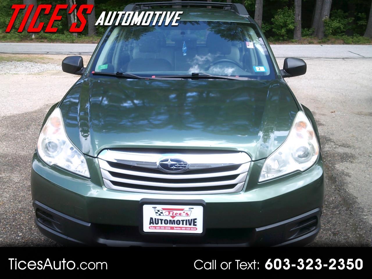 Subaru Outback 4dr Wgn H4 Auto 2.5i 2011