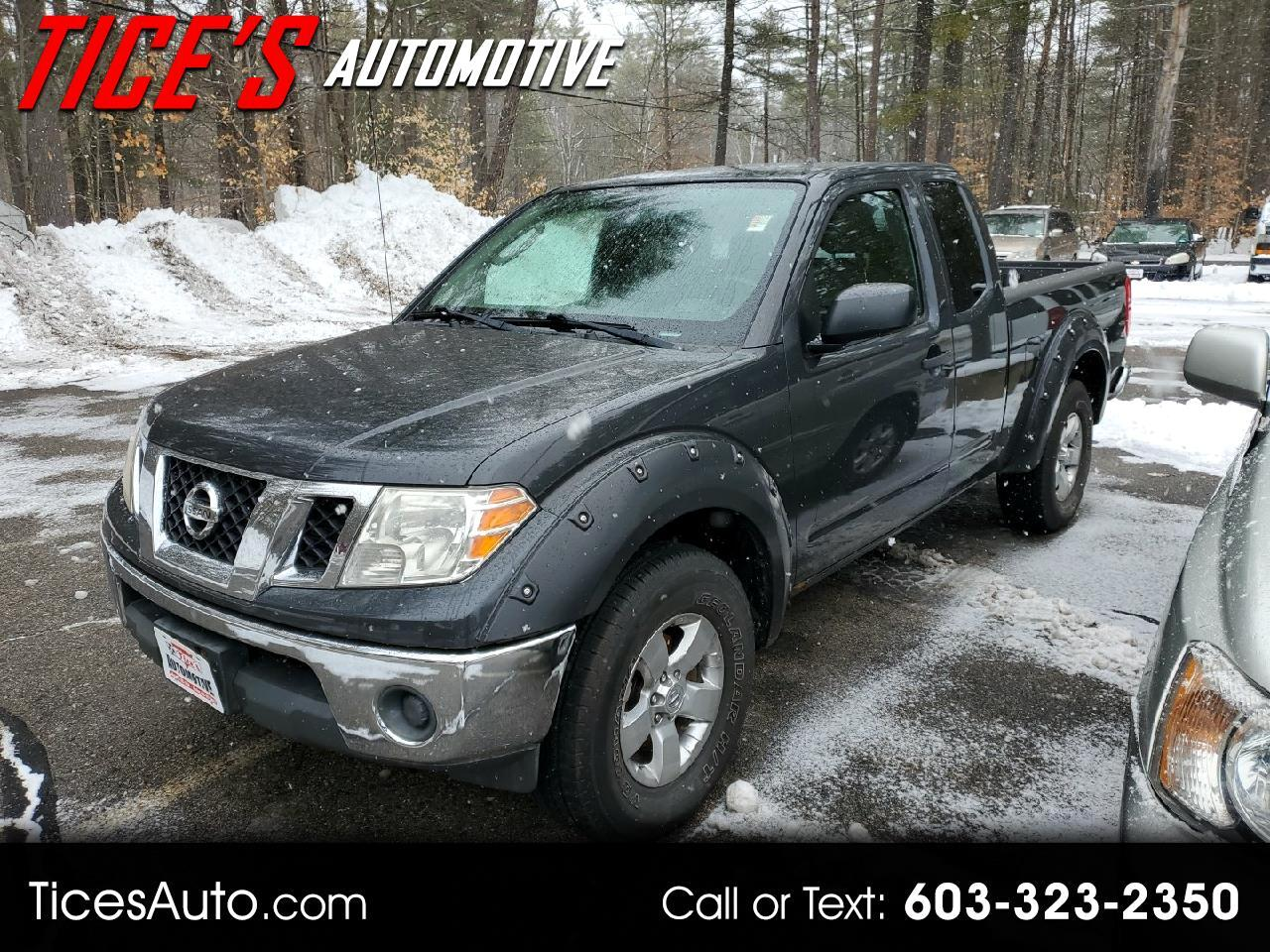 Nissan Frontier 4WD King Cab Manual SE 2010