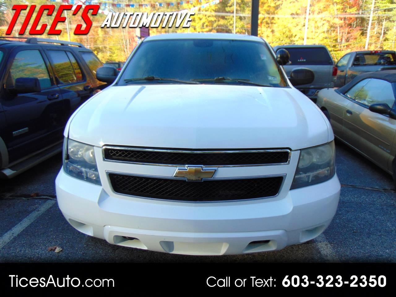Chevrolet Tahoe 4WD 4dr 1500 Special Service Vehicle 2009