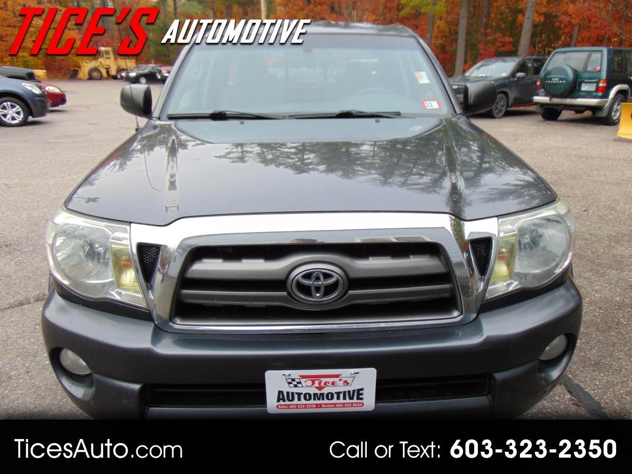 Toyota Tacoma 4WD Access V6 MT (Natl) 2010